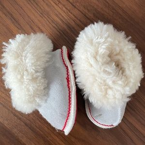 Hand made Sheep Wool Shear Baby boots